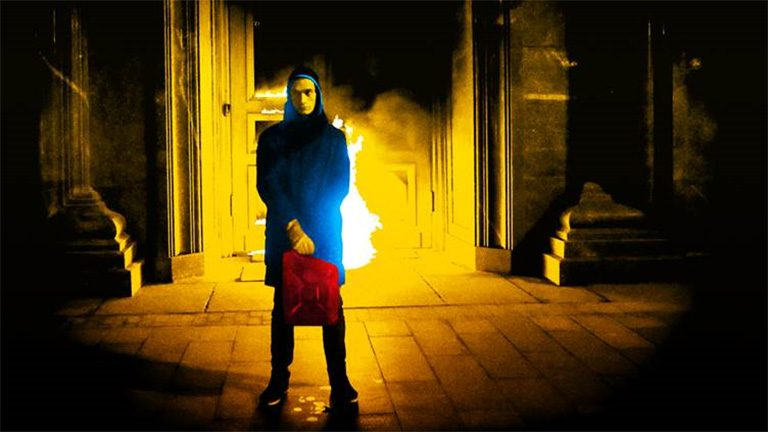 burning doors