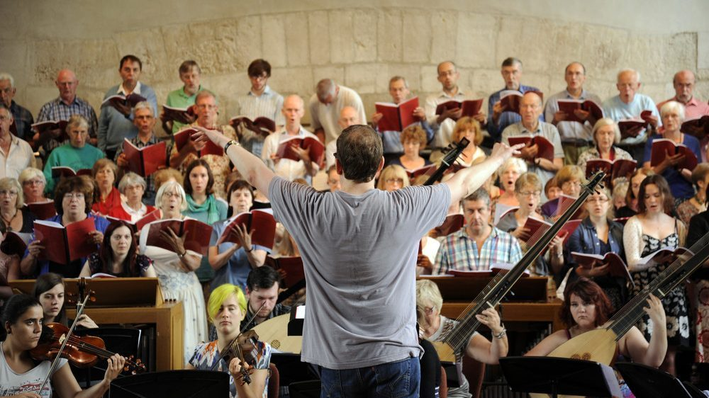 Choir workshop, International Summer School. (c) Kate Mount