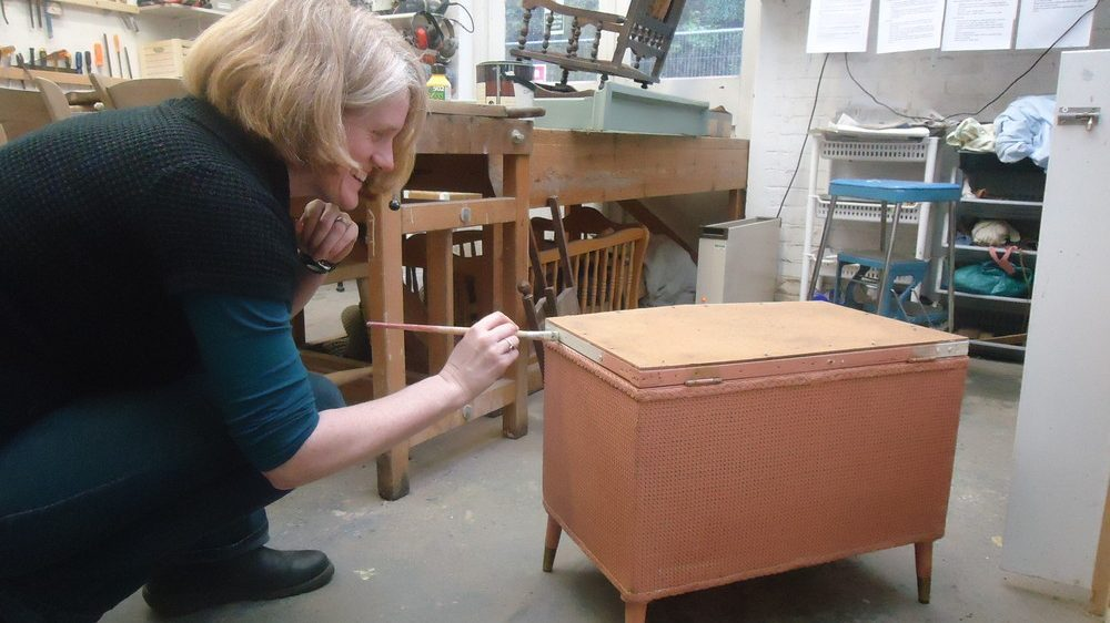 Student Abi takes on her first project at the ReStore