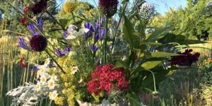 Field fresh flower arrangement from the Flower Project