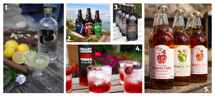 Products available from Devon Drinks