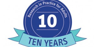 Research in Practice for Adults celebrate 10th birthday