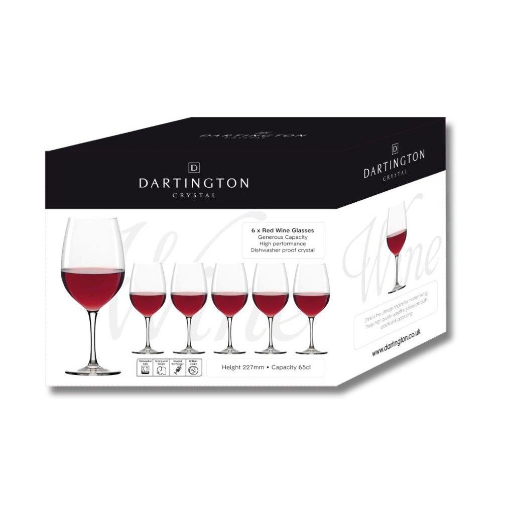 Dartington Red Wine 6 Pack
