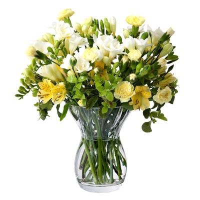 Dartington Crystal Florabundance Posy Vase