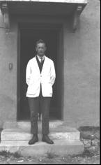 Frank Crook. Photo, George Bennett, The Dartington Hall Trust Archive
