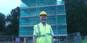 Richard Creed. (c) Brenda Hare, Dartington Hall Trust Archive