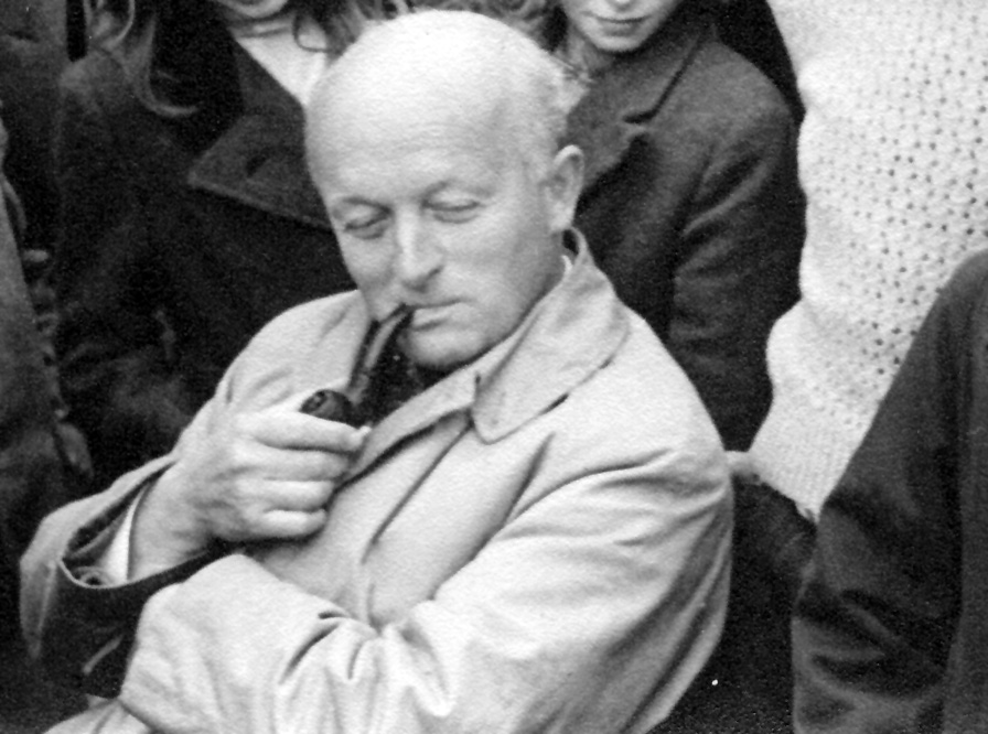 William Curry at Foundation Day, 1946. Photo: The Dartington Hall Trust archive