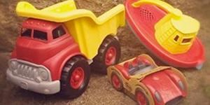 Toy shop truck
