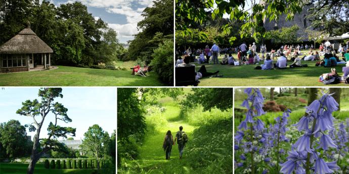 Dartington gardens composite