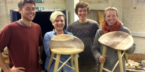 Ambrose Vevers Craft Revolution stool course