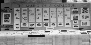 Exhibition stand for the then legenday Dartington gardens catalogue