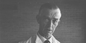 Herbert Mills, 1970. Photo, Humphrey Burton, Dartington Archive