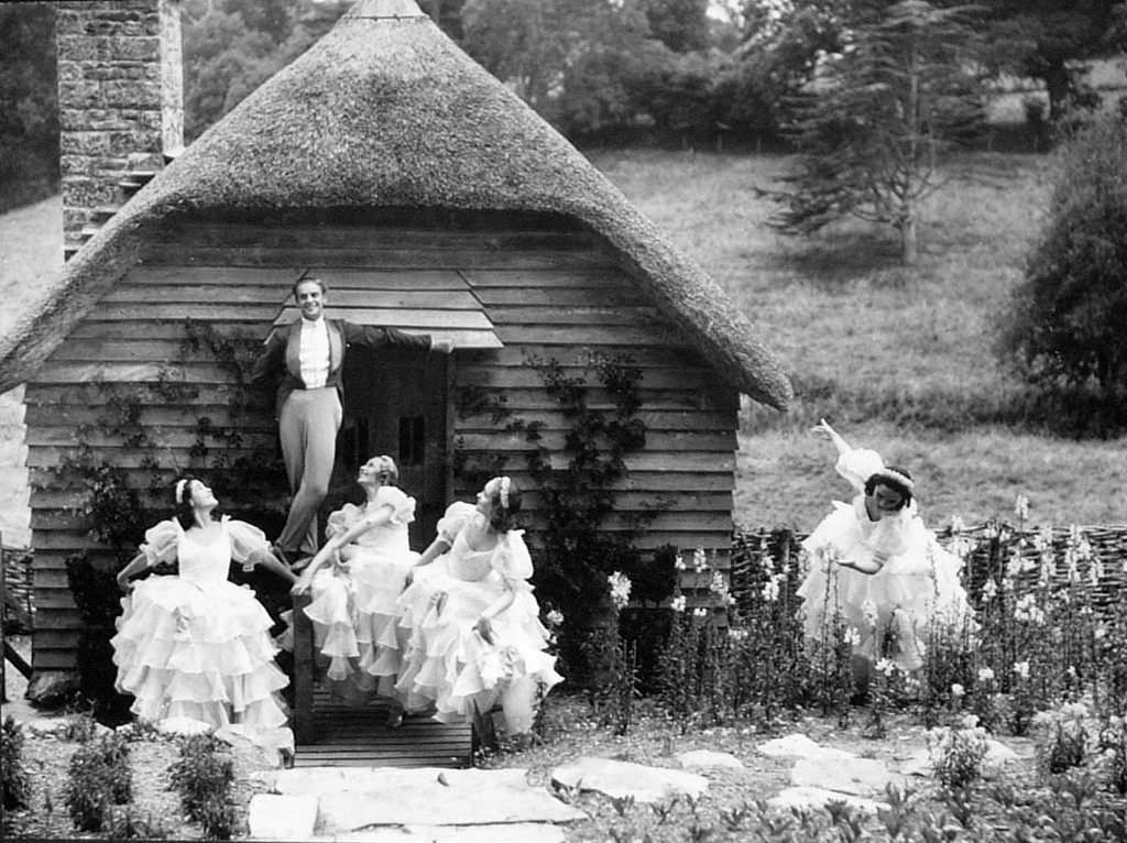 Kurt Jooss outside Children's Playhouse. Photo: Dartington Archive