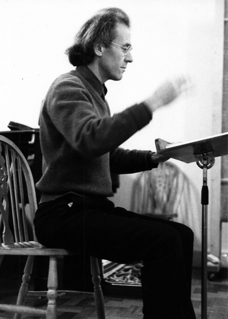 Roy Truby conducting. (c) The Dartington Hall Trust Archive