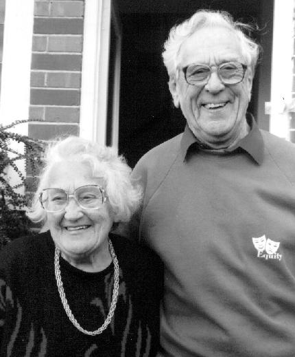 Edna and Bert Pitman