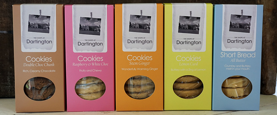 New in to The Shops at Dartington