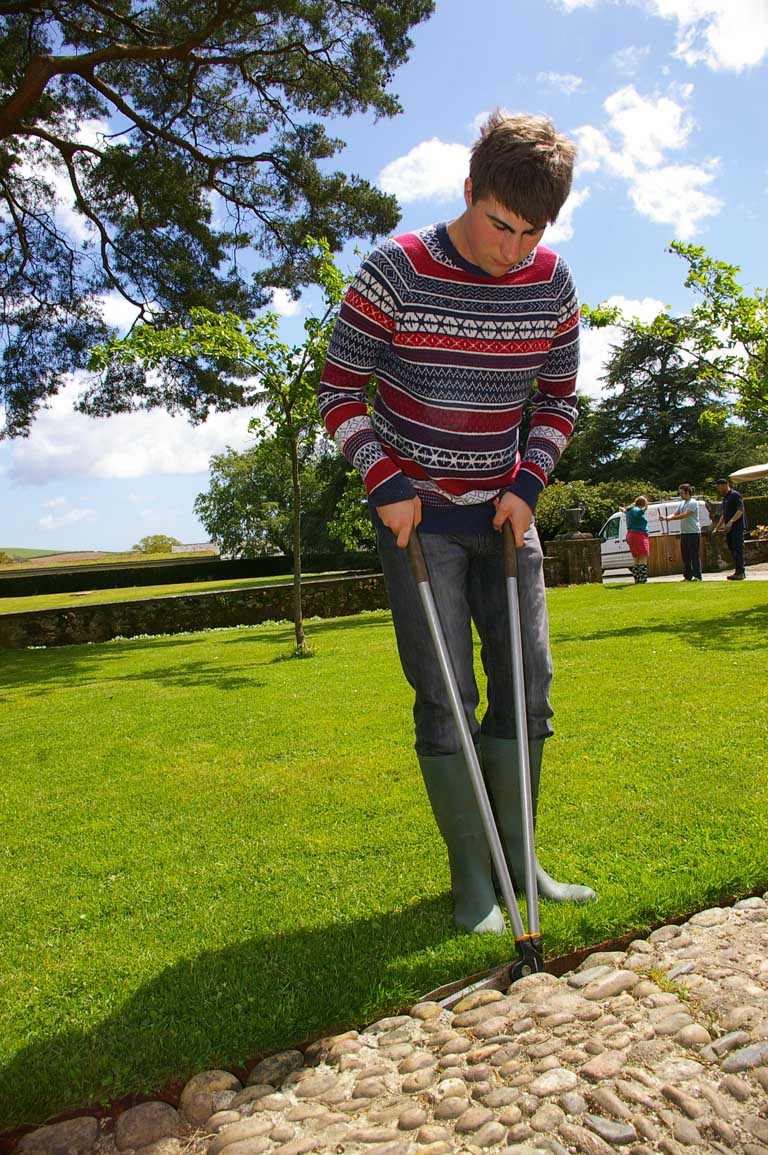 LifeWorks student gains work experience in Dartington's Gardens