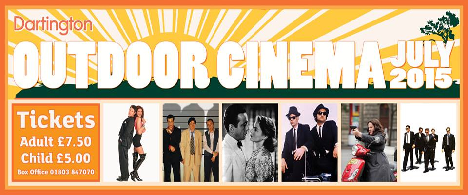 Outdoor Cinema season is underway!
