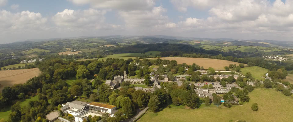 Dartington from the air - for sliders