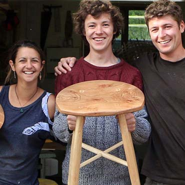 Ambrose Vevers. Craft of Woodworking: Stool Making