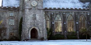 Snow at Dartington