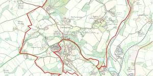 Dartington Water Supply map - click to enlarge
