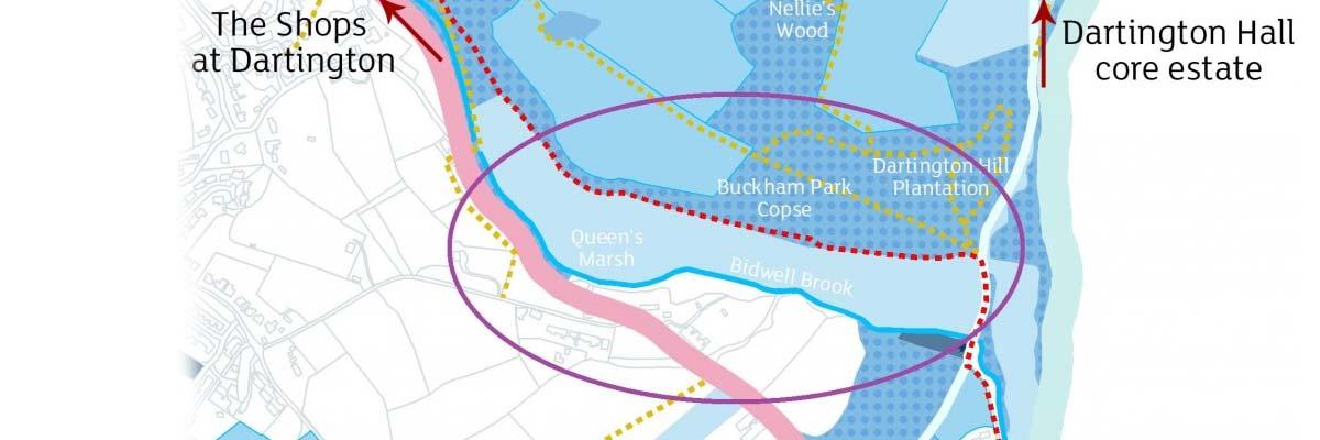 Queen's Marsh map