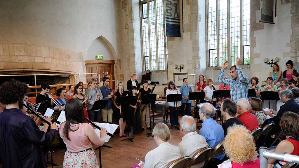 A Summer School concert in the Great Hall
