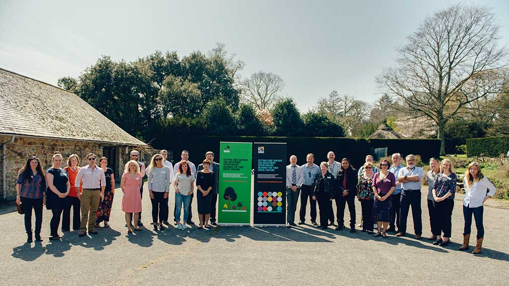 Member of the 2015 Seedbed Accelerators programme at Dartington on launch day