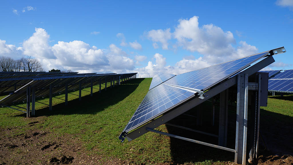 Solar Panels at Dartington
