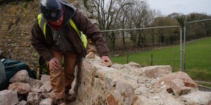 Deer Park Wall Phase 1 restoration