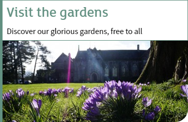 visit the gardens