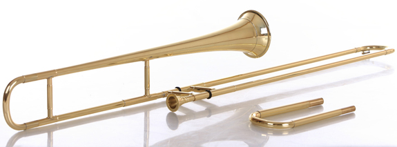 the medieval ancestor of the modern trombone is