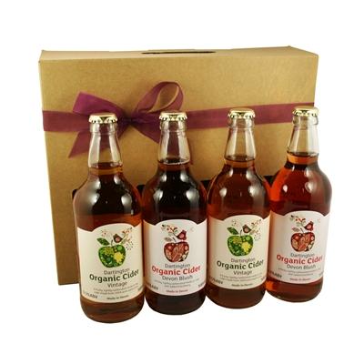 Dartington Organic Cider Gift Box