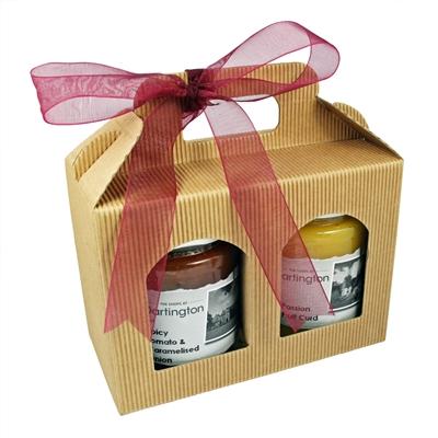Dartington Preserve Two Jar Gift Set