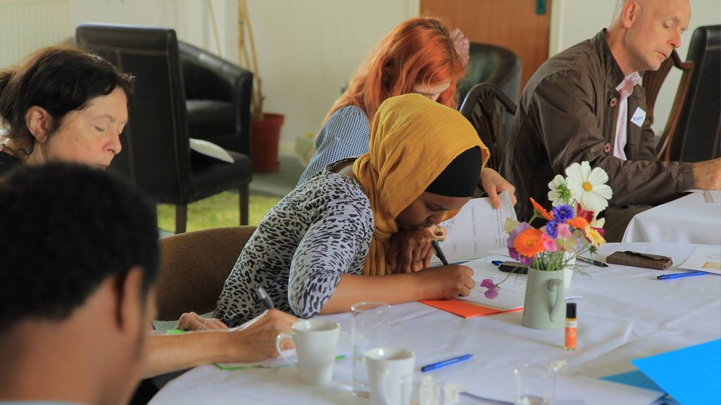 Gallery: Residential weekend for refugees and asylum seekers at Dartington