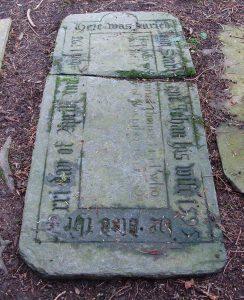 Gravestone 1595