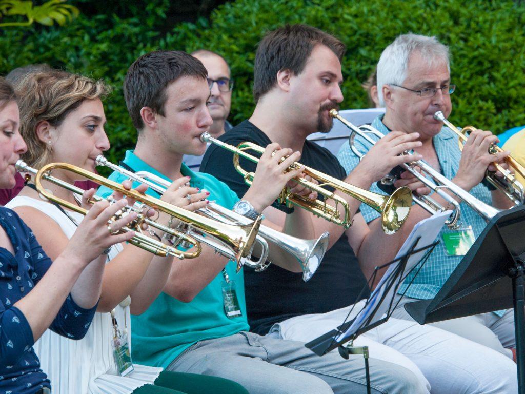 Brass Ensemble trumpets