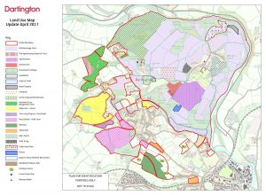 Land Use Review - full map and key. Click to open enlarged version (in new window/tab)