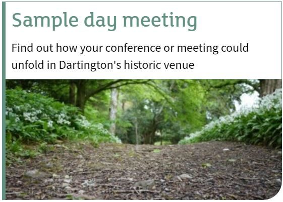 conference sample day meeting