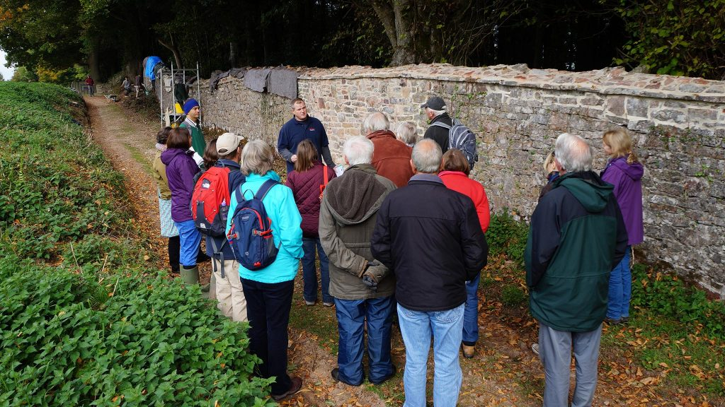 'Heritage Guide' training with Estate Warden Mike Newby