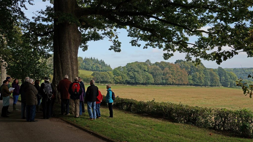 'Heritage Guide' training. The Deer Park can be seen in the background