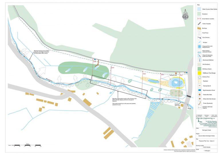 Proposed Plan View for Queen's Marsh development