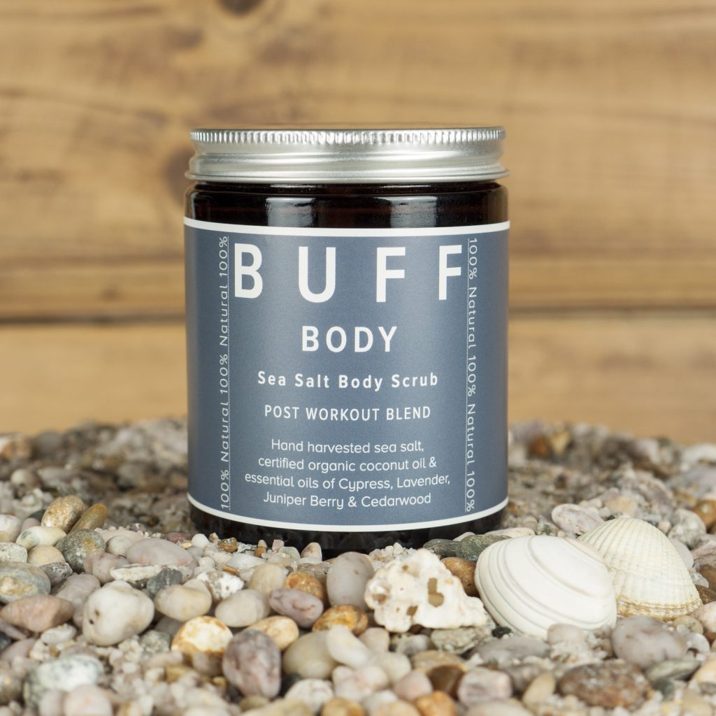 BUFF Sea Salt Body Scrubs