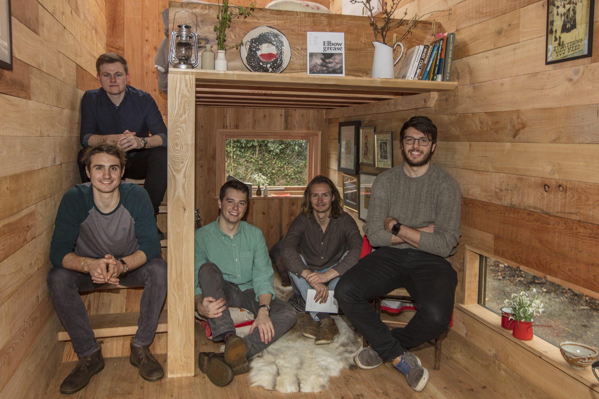 Tiny House eco-pod interior