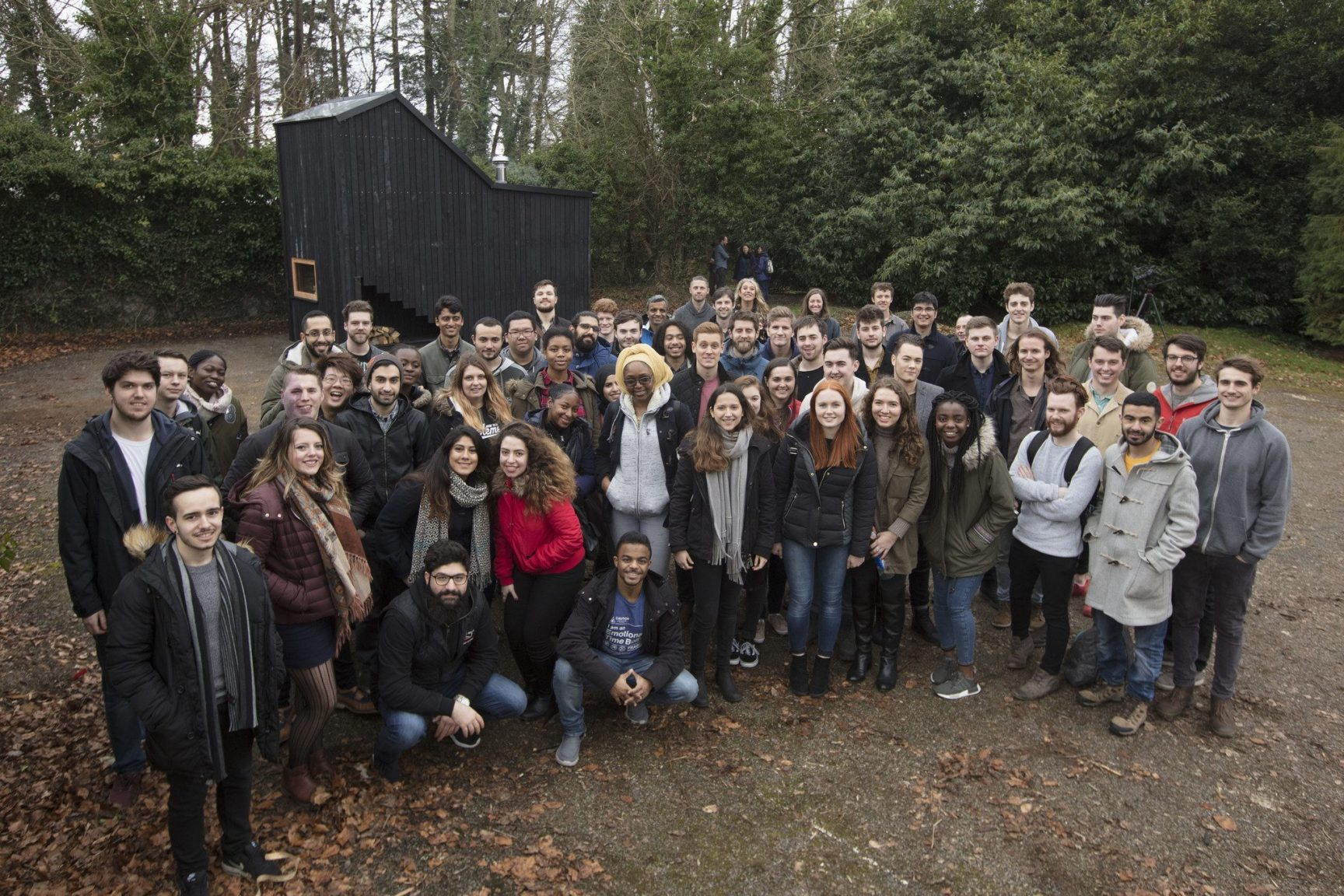 Architecture students create unique camping experience