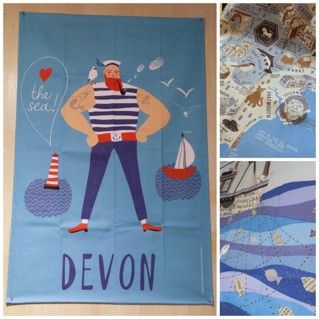 Devon Tea Towels
