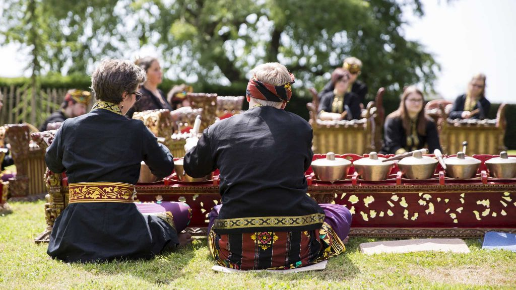 Beautiful Balinese instruments are expertly put through their paces at the Gamelan concert