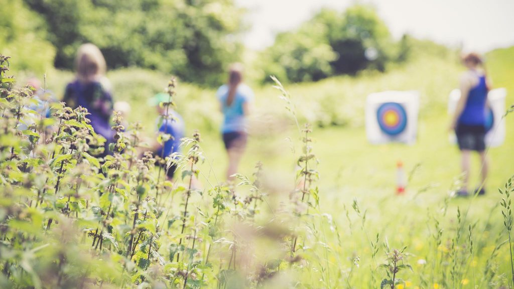 Dynamic Adventures host archery sessions in Aller Park field
