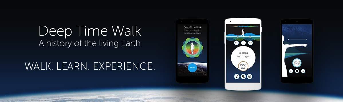 Deep Time Walk banner
